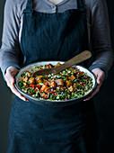 Kale and Quinoa Tabbouleh