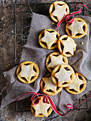 Three-in-one mix mince pies