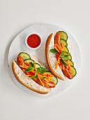 Vietnamesische Hot Dogs