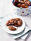 Gooey Chocolate Cookies