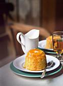 Sticky Pudding mit Clementinen und Ingwer