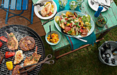 Argentinian grill platter