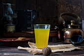 Ginger turmeric drink
