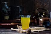 Ginger turmeric drink