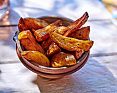 Rustic french fries