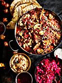 Persischer Auberginenauflauf