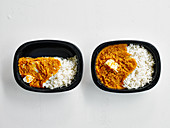 Chicken Curry with Rice 'To Go'