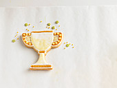 A trophy biscuit