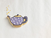 A teapot biscuit