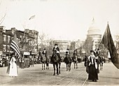 Woman Suffrage Procession, USA, 1913