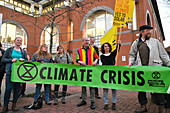 Climate Crisis protest, Reading, UK