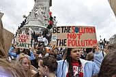 Climate Strike protest, London, UK