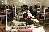 Garment factory, Afghanistan