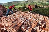 Brick factory, Burundi