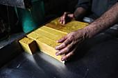 Soap factory, Pakistan
