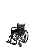 Foldable wheelchair, 20th century