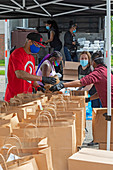 Free food distribution during covid-19 outbreak