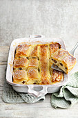 Austrian milk-cream strudel