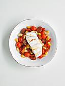 Cod and chorizo pepper pot