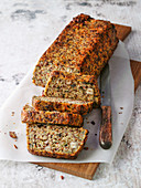 Seeded bread with millet and carrots