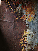 A rusty metal surface