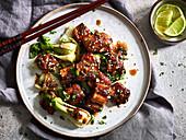 Tofu-Teriyaki mit Paksoi (Asien)