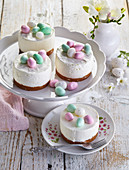Easter mini cheese cakes