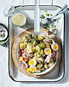 Salad Piemontaise - French-style potato salad