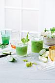 Celery, fennel and apple juice
