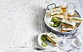 Marron Katso Sando with wasabi mayo (Japan)