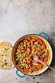 Chettinad Chicken Fry (Hähnchengericht, Indien)