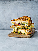 Bombay Chili Cheese Toasties (Vegetarisch)