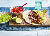 Burritos mit Biltong-Rindfleisch