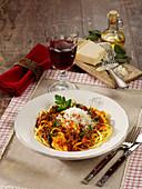 Pasta with Ragú alla Bolognese