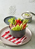Fast vegetable snack