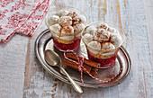 Non-baked raspberry cheesecake