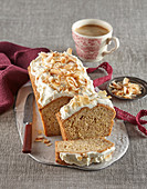 Parsley root loaf with coconut