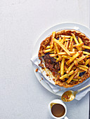 Steak And Chips Pie (England)
