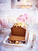 Dattel-Ingwer-Kuchen mit Malz