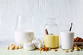 Nut Milks - macadamia, pecan and cashew