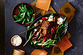 Slow-cooker beef in black bean sauce
