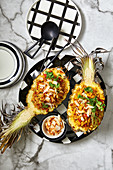 Caramelised pineapple and coconut curried rice