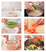 Weiße Bohnen mit Tomaten zubereiten