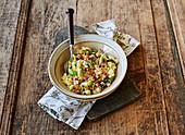 Endivien-Kartoffel-Salat mit Schinken