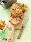 Aubergine loaf