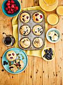 Mix And Match Pancake-Muffins