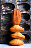 Stack of French Madeleines