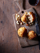 Pancetta and mozzarella arancini