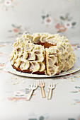 White chocolate bundt cake
