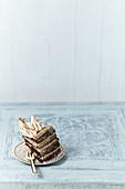 Espresso buttercream sponge cake